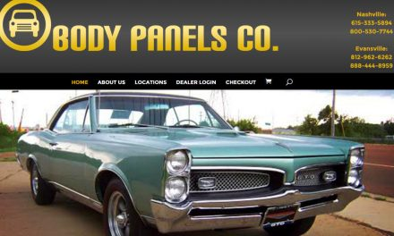Divi Theme Example – Body Panels Co.