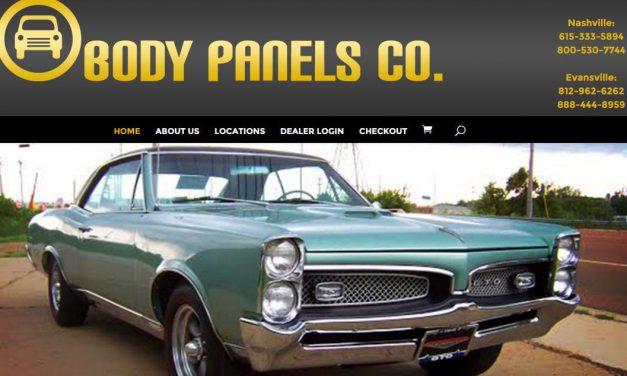 Divi Theme Example – Body Panels Co.