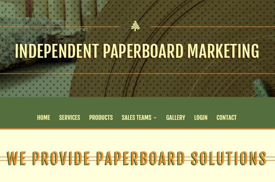 Independent Paperboard Marketing – We Provide Paperboard Solutions