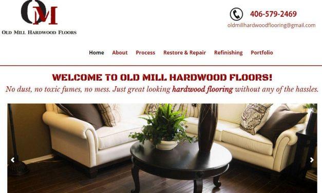 Divi Theme Example – Old Mill Hardwood Floors