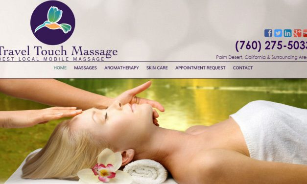 Divi Theme Example – Travel Touch Massage