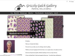 Custom Built WordPress Website – Grizzly Gulch Gallery