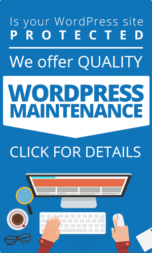 wordpress maintenance service and security