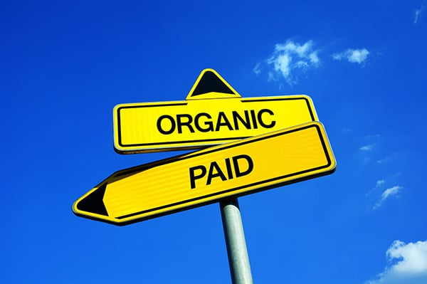 Organic Traffic Versus Paid Traffic
