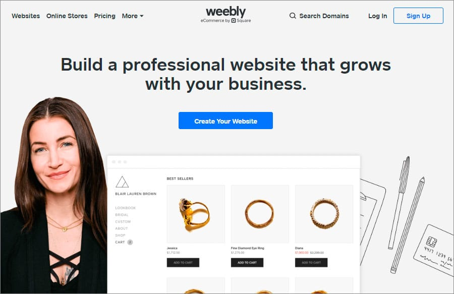 Weebly Is One Of The Best Website Builders