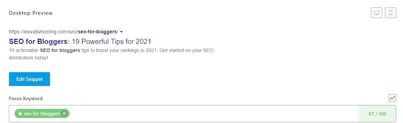 SEO Page Title Optimization